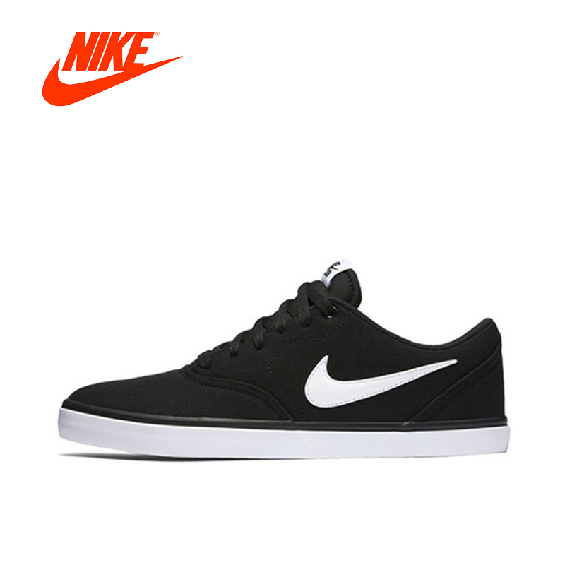 Original New Arrival Authentic Nike SB CHECK SOLAR CNVS Men Skateboarding Shoes Comfortable Breathable джемпер женский vis a vis цвет светло зеленый vis 0289 размер xl 50