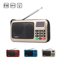 Portable Mini FM Radio Speaker HiFi Stereo Receiver Music Player Support TF Card with LED Display Flashlight Radio Mp3 Speaker mini portable fm radio stereo speaker mp3 music player double loudspeaker with tf card usb disk input gift for parents