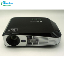 ILLUMINE 2016 hot selling  BL308A Portable HD mini projector computer USB mini projector DL-308A