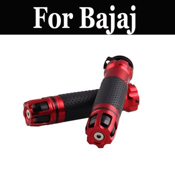 Manillar Universal de 7/8 pulgadas para motocicleta, empuñadura para motocicleta, barra de agarre para Bajaj Avenger 220 dts-i Discover 100 125 150 Platina 100 Cc