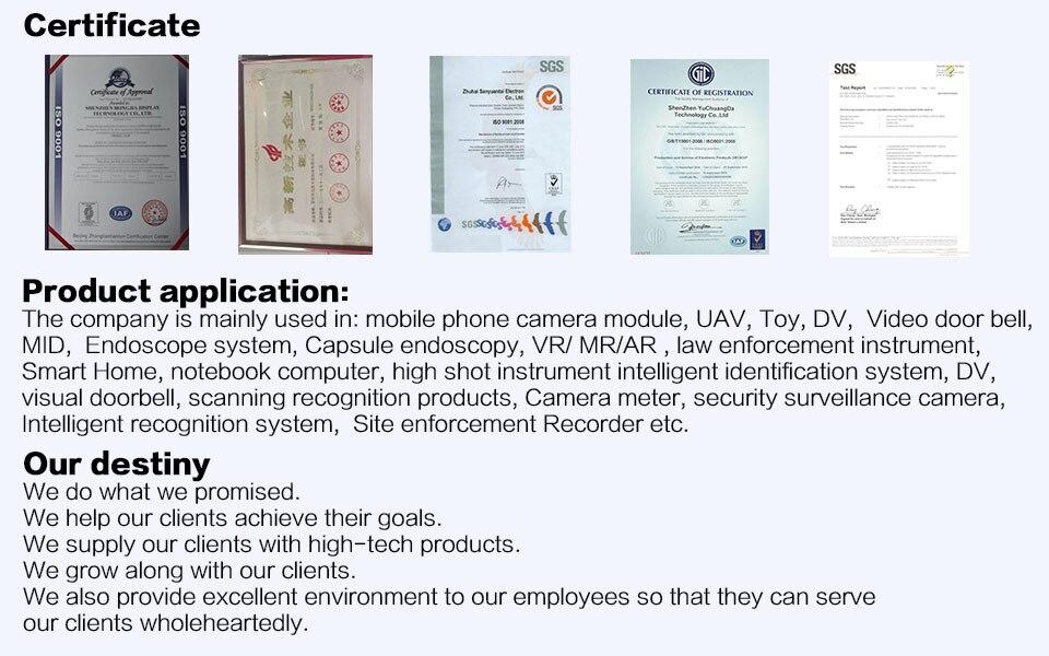 HM2057 USB módulo Da Câmera 200 w