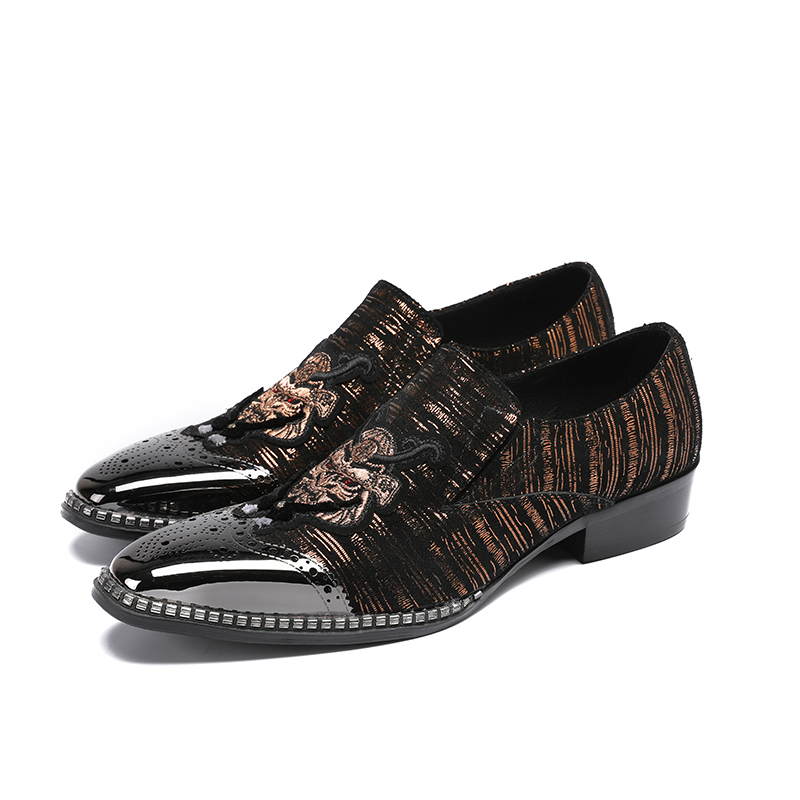 Brillo as Picture Espadrilles Picture Okhotcn Verano Hombre Marca Cuero Bordado Hombres Lujo Top Casual Zapatos Mocasines As Diseñadores qS1awY1xFp