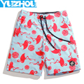 Yuzhou Board shorts men swimming trunks praya plavky Polyester nylon plus size joggers running boardshort short hombre sky