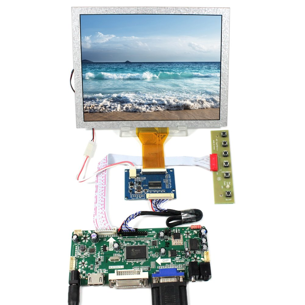 HDMI VGA DVI Audio lcd Controller board 8inch 800x600 EJ080NA 05A LCD panel нестеров мдр 3 h0943b02 05a