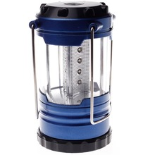 Outdoor Camping 12 font b LED b font Small Hanging lights Blue