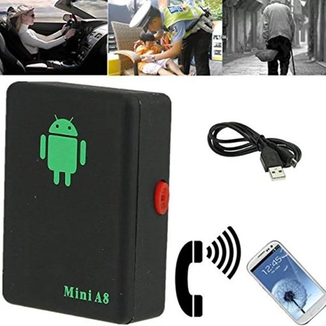 Мини A8 GSM/GPRS/фунтов не GPS трекер rastreador трекер Глобальная устройства слежения с кнопкой SOS для автомобилей детей старшего допускается локатор