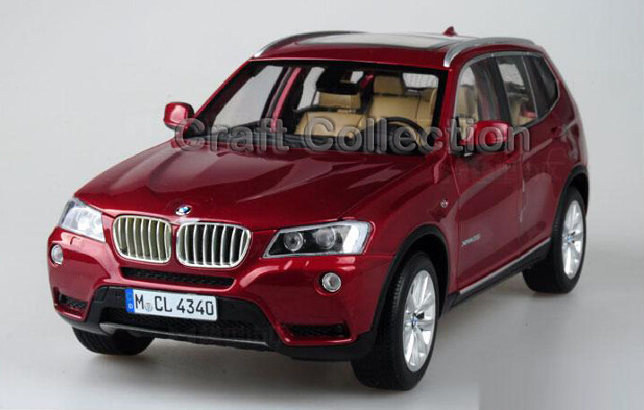Red New 1 18 X3 SUV Diecast Model Car Chinese Model 3 Colors Available Miniature Luxury
