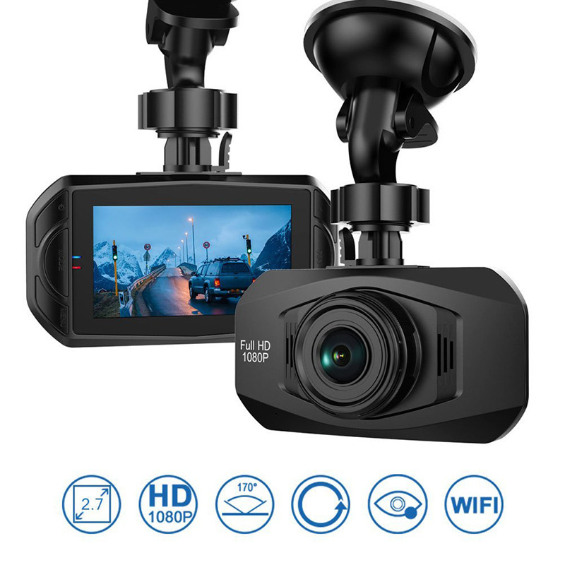2.7 Inch dash cam Full Hd 1080p Car dvr wifi Dashcam Video Night Vision camera цены онлайн