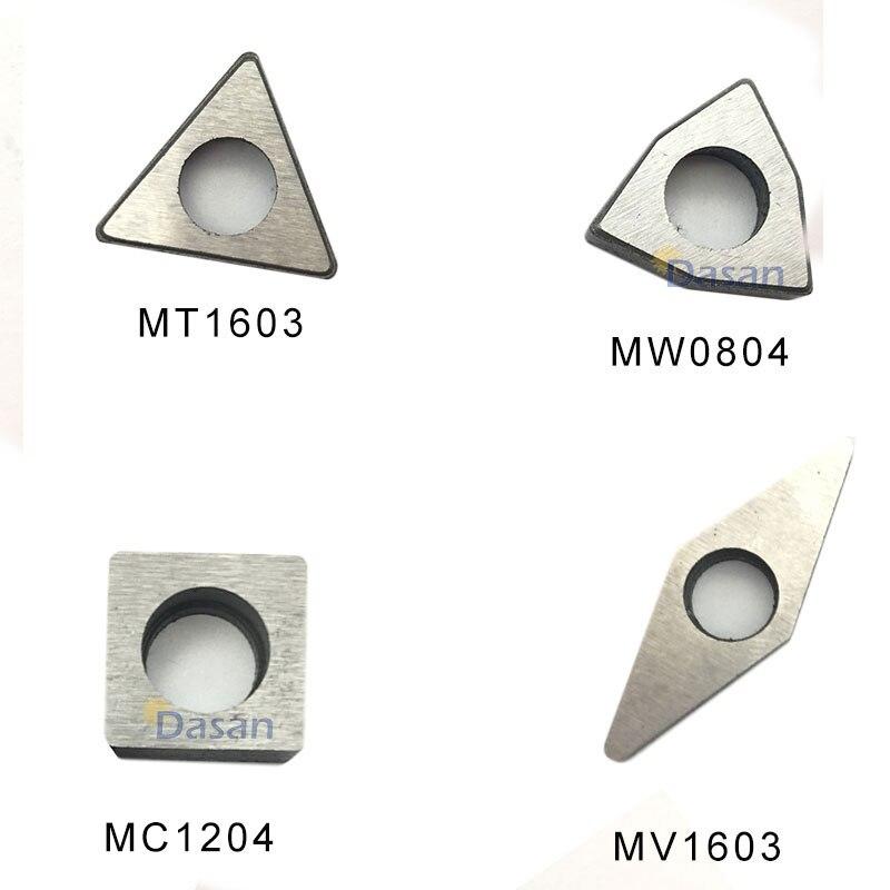 10pcs MT1603 MT1604 MC1204 MV1603 MW0804 Carbide Shim Seat For CNC Turning Tool Holder