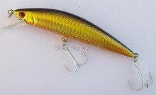 4pcs12cm/32g Sea bass mackerel big size hard fishing lure Minnow mixed 4 colors strong fishing hook free shipping