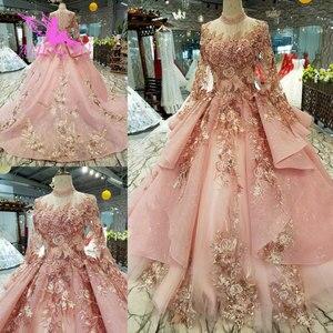 Image 2 - AIJINGYU Wedding Dress Black Gowns Plus Size Bride Indonesia Custom In Dubai Gown Two Pieces Cheap Bridal Dresses