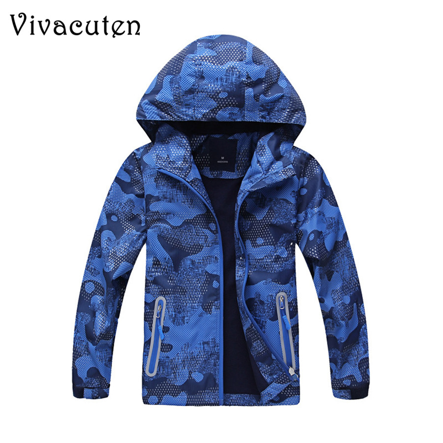 New Children Coat Kids Waterproof Windproof Sporty Jackets 2018 Boys Girls Warm Thickening Outerwear Clothing For 5-14T Tops