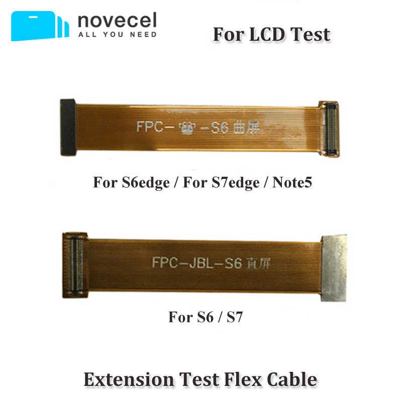 جديد شاشة الكريستال السائل موصل الكابلات المرنة لسامسونج غالاكسي S9 + S9 S8 زائد S7edge S7 S6 LCD ربط اللوحة