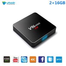 Vmade TV Box V96 Android 7.1 Allwinner H3 Quad Core 2GB 16GB Smart Mini IPTV 1.5GHz WIFI Google TV Media Player Set-Top Box стоимость