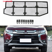 Car Insect Screening Mesh Front Grille Insert Net For Mitsubishi Outlander 2013-2019