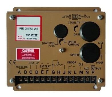 Diesel generator Speed Control Unit ESD5220E lxc706 diesel generator auto start control completely replaced dse702 diesel generator auto start control