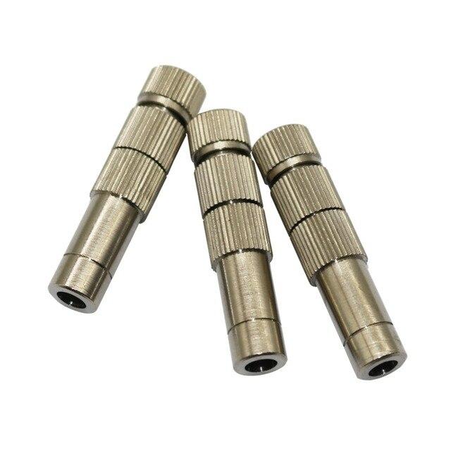 2 pz 0.2-0.6mm blocco di Slittamento Quick-connect 8mm A Bassa Pressione di Rame