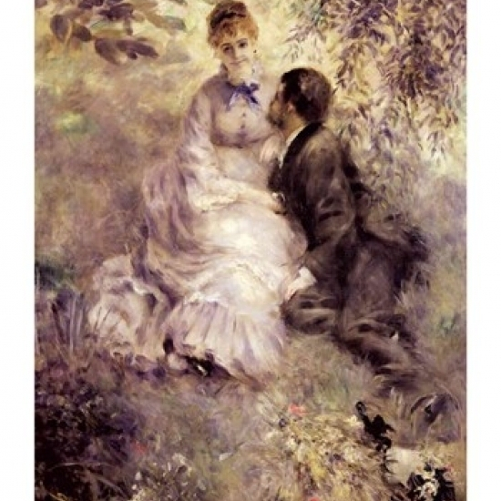 The Lovers Poster Print by Pierre-Auguste Renoir (18 x 24)