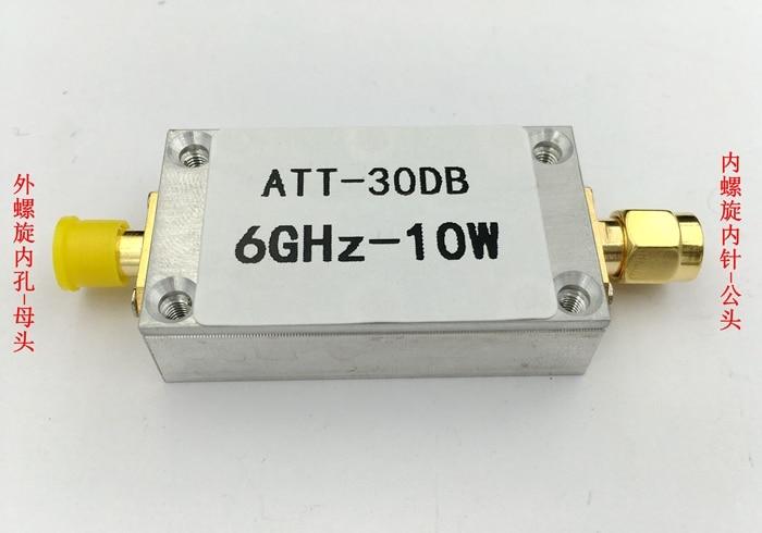 10 W 30DB Sabit Zayıflatıcı RF Zayıflatıcı Güç Metre Spektrum Analizörü|Klima Parçaları|Ev Aletleri - title=