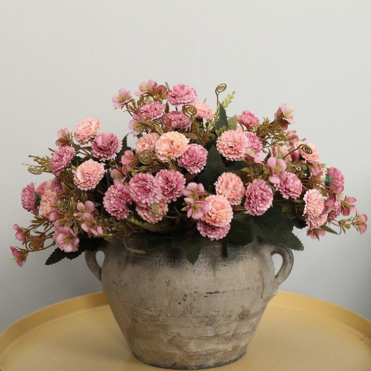 Silk Flowers Carnations Bouquet Best Children's Lighting & Home Decor Online Store