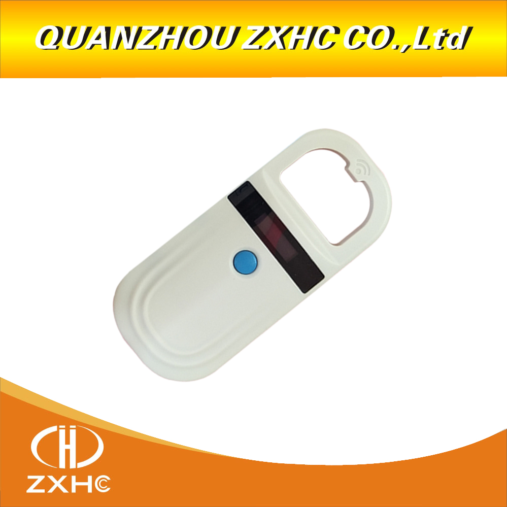RFID 134.2Khz pet chip scanner identification glass tube label reading Animal handheld card reader FDX-B&EMID For dogs or cats