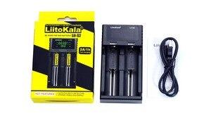 Image 5 - 新しいliitokala Lii S2 18650バッテリー充電器1.2v 3.7v 3.2v aa/aaa 26650 21700ニッケル水素、リチウムイオン電池スマート充電器 + 5v 2Aプラグ