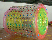 2016 DHL factory price best quality PVC inflatable walking ball /inflatable roller /inflatable water game