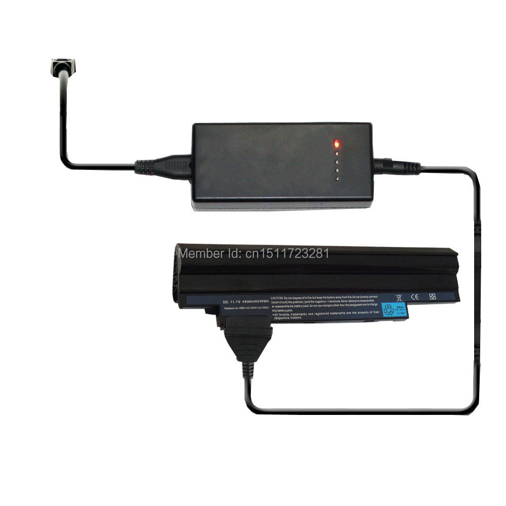 External Laptop Battery Charger For Acer Aspire One 360