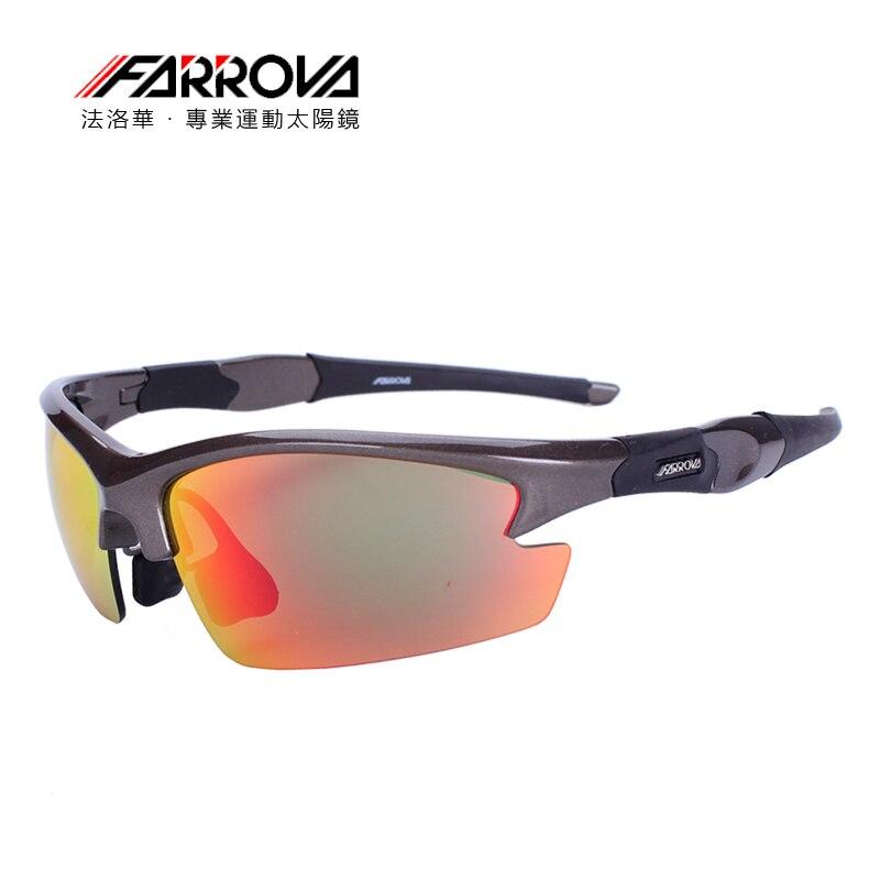 FARROVA lunettes de sport polarisées vélo de route lunettes TR90 Sunglasse vélo lunettes sport lunettes vtt vélo lunettes