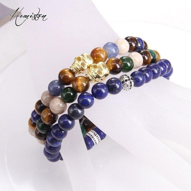 Фото мужские ювелирные изделия thomas style lapis lazuli эластичный