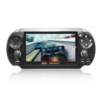 Portable 4.3inch Screen handheld game Console 8GB Memory MP5 Game Player With Digital Video Camera Built in Microphone