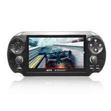 Portátil handheld game Console 8 GB de Memória Tela de 4.3 polegadas MP5 Game Player Com Câmera de Vídeo Digital Microfone Embutido