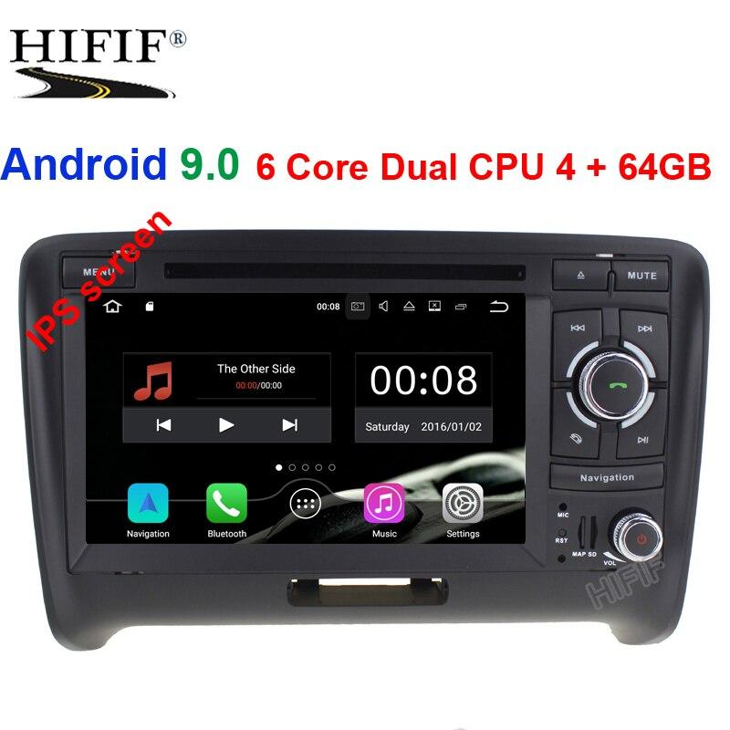 Car Multimedia Player DSP Car Radio GPS Android 9.0 2 Din For Audi/TT 2006-2012 Canbus DDR3 4GB OBD2 Bluetooth Wifi DVRCar Multimedia Player DSP Car Radio GPS Android 9.0 2 Din For Audi/TT 2006-2012 Canbus DDR3 4GB OBD2 Bluetooth Wifi DVR
