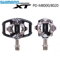 Shimano XT PD M8000 M8020 Self Locking MTB Bike Pedales Cycling Mountain Clip Components for Bicycle Racing Cleat Accessories
