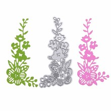 ФОТО flower corner edge metal cutting dies stencil for diy scrapbooking photo album embossing paper cards decorative handmade crafts