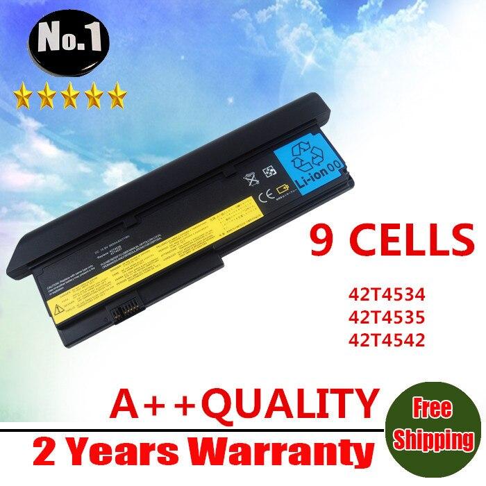 Prix pour En gros nouveau 9 cellules batterie d'ordinateur portable pour ibm thinkpad x200 x200s x201 x201s x201i série 42t4534 42t4535 livraison gratuite