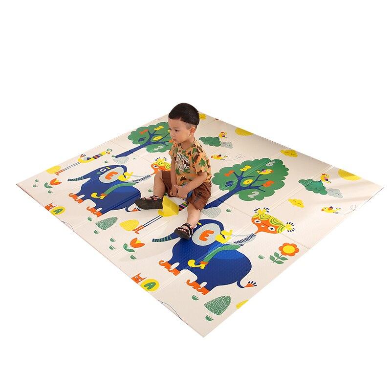Infantile Brillant Pliable Bébé tapis de jeu Pliant marchepied roulant XPE Bébé Chambre Tapis Enfants tapis de sol 200*150 cm Tapis de Jeu pour Nourrissons - 4