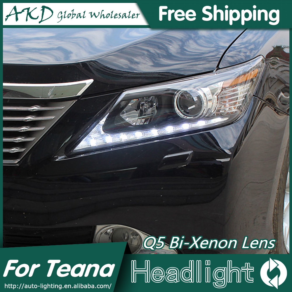AKD Car Styling for Toyota Camry V50 Headlights 2012 Lexus Design LED Headlight DRL Bi Xenon Lens High Low Beam Parking Fog Lamp айфон 4 москве дешево