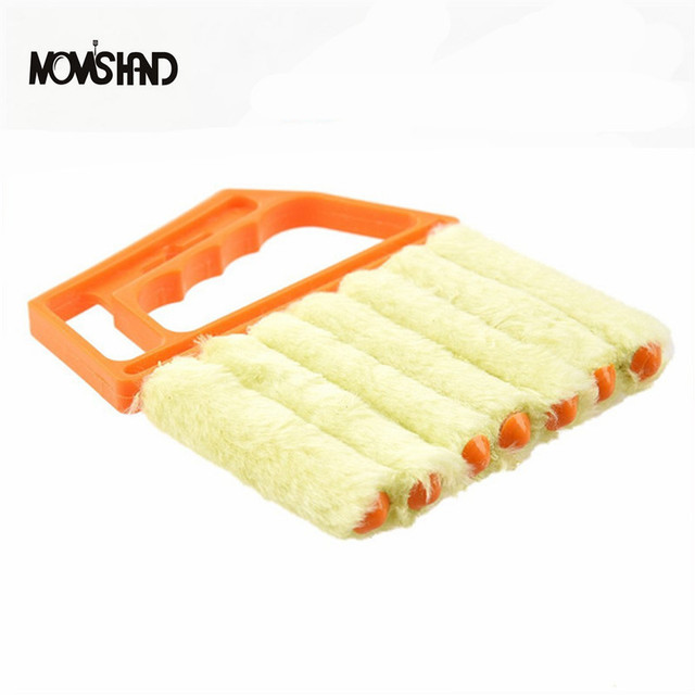 Us 5 91 26 Off Aliexpress Com Buy Multifunctional Cleaning Brush Mini Blind Cleaner From Reliable Brush Drop Suppliers On Mom S Hand Official