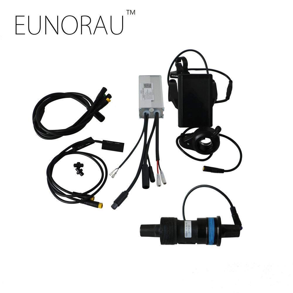 Free shipping 36V 350W electric bike controller kit e bicycle spare parts ebike conversion with torque sensor 850C LCD display supernova sale or04f1 36v lcd display panel system en15194 approved e bike electric bike