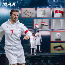 Whole set figure for Collection agtoys 1/6 Football Star David Beckham Male Action Figure Collectible