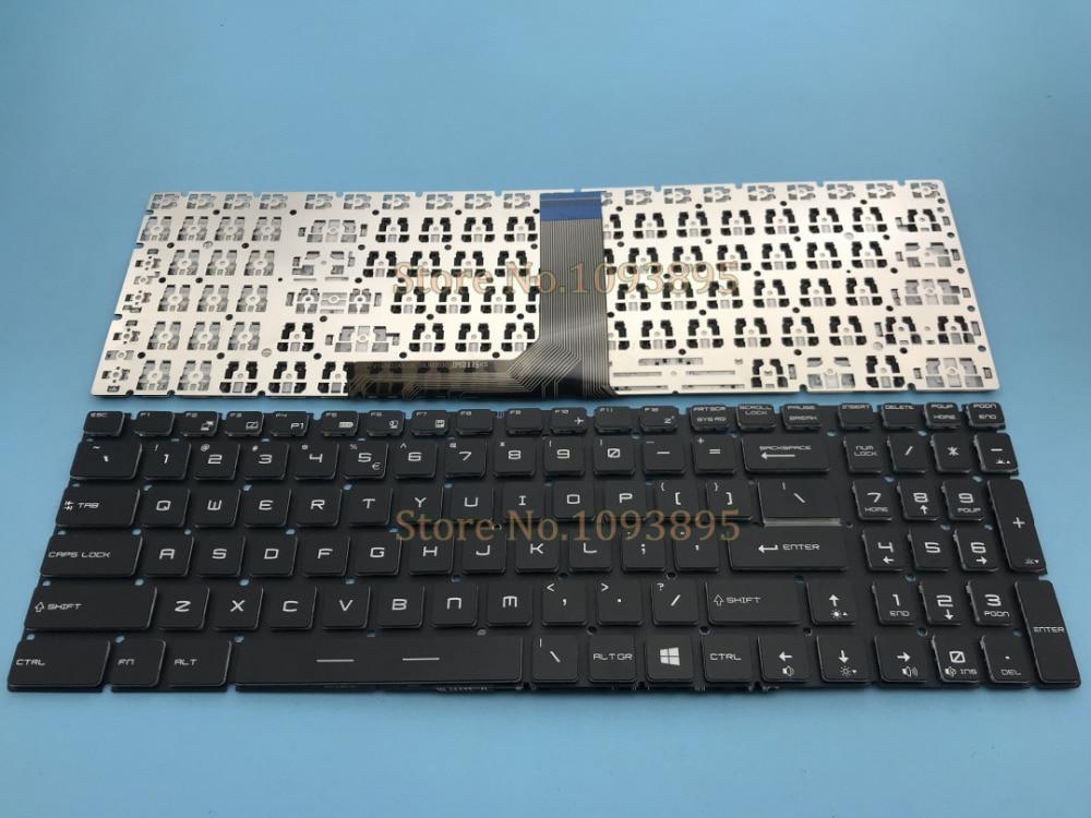 NEW English keyboard For MSI Steelseries GP62 GP62 6QE GP72 GP72 2QE Gaming Laptop English keyboard