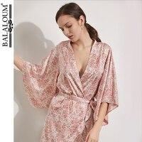 2019 Women Plain Silk Satin Robes Mother Sister of The Bride Wedding Gift Underwear Bride Gown Bath Robe Lady Nightwear Robes