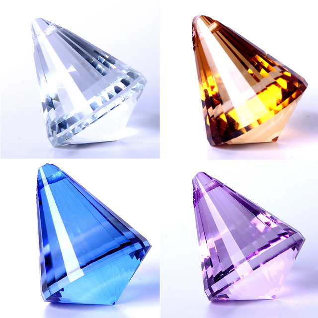 10pcs 12 colors crystal glass pendant indoor room wedding decoration 10pcs 12 colors crystal glass pendant indoor room wedding decoration party supplies decoration aloadofball