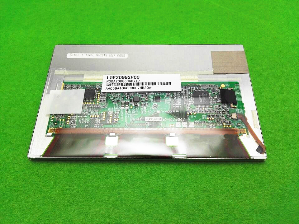 Original 5.6 inch for L5F30992(CF-U1) LCD screen for Panasonic CF-U1 notebook LCD display Screen panel (without touch) lp125wh2 slt2 12 5 inch notebook lcd screen free delivery