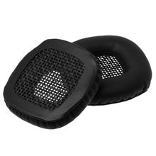 1 Pair Replacement Ear Pads Cushion Headset Earpads Cover Professional Square Design For Marshall Major On Ear Headphones replacement ear pads cushion headset earpads for marshall major on ear headphones black