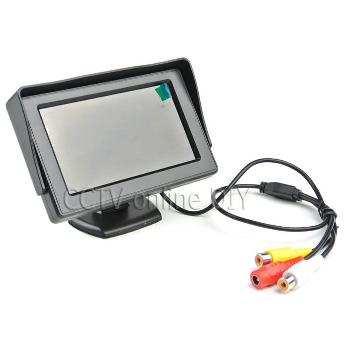 ANSHILONG 2in1 TFT LCD 2 Entrada de video Monitor de estacionamiento - Electrónica del Automóvil - foto 3