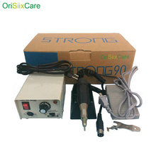 Strong 90 Micromotor Hand Polishing Polisher Dental Lab equipment 220V 0 35000 rpm with 102 Handpiece