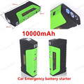 Car power bank 10000 mAh high capacity lithium polymer battery 12V Power Bank Engine Jumper starter Booster Multi function