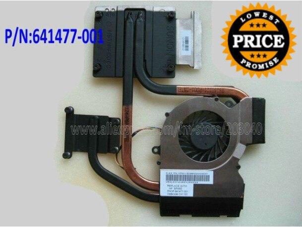 NEW For HP DV6-6000 DV7-6000 cooling heatsink with fan 641477-001 640903-001